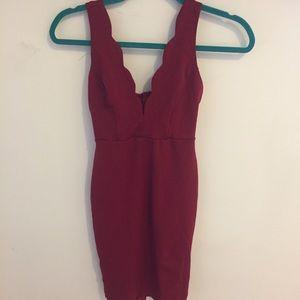Lulus Red Bodycon Dress